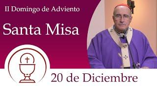 Santa Misa - Domingo 20 de Diciembre 2020