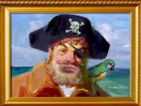 Pirate in Spongebob Squarepants