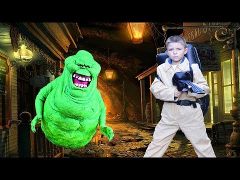 Ghostbuster Adventure Parody with Slimer