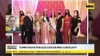 13 imputados por elección de miss Curuguaty