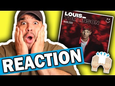 connectYoutube - Louis Tomlinson - Miss You [REACTION]