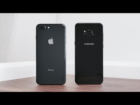 Apple iPhone 8 Plus vs Samsung Galaxy S8+