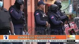 PN realiza operativo en Capotillo, luego de tiroteo