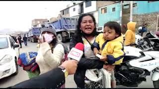 PBO COMBUTTERS - Alrededor de 8 mil PERUANOS fueron desalojados del Morro Solar
