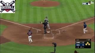 Astros de Houston Robel García Limpio Las bases con Tremendo cañonazo