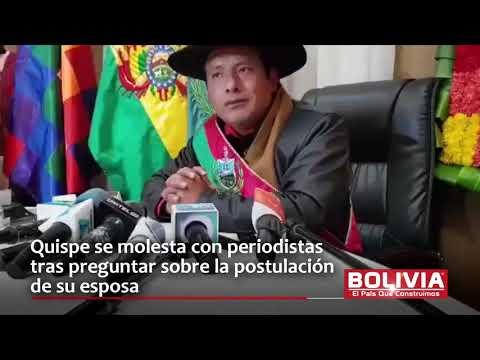 GOBERNADOR DE LA PAZ SE ENOJA CON PERIODISTA