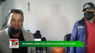 Se entrega a la policía joven acusado de matar a otro en San Pedro de Macorís