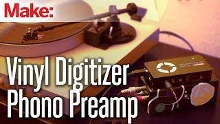 Weekend Projects - Vinyl Digitizer Phono Preamp
