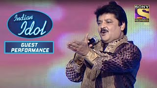 Udit जी ने किया 'Main Nikla Gaddi Leke' पर Perform | Indian Idol | Guest Performance - SETINDIA