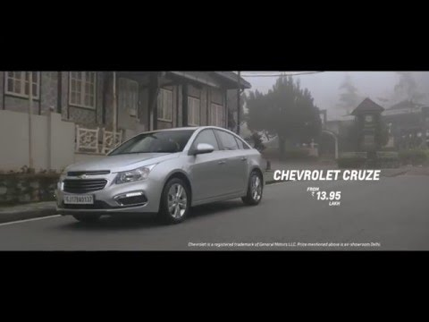 Chevrolet Cruze 2016  For Those Who Do Their Own Thinking