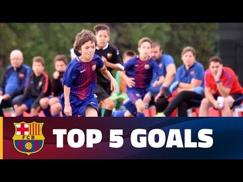 FCB Masia-Academy: Top 5 goals 9-10 December