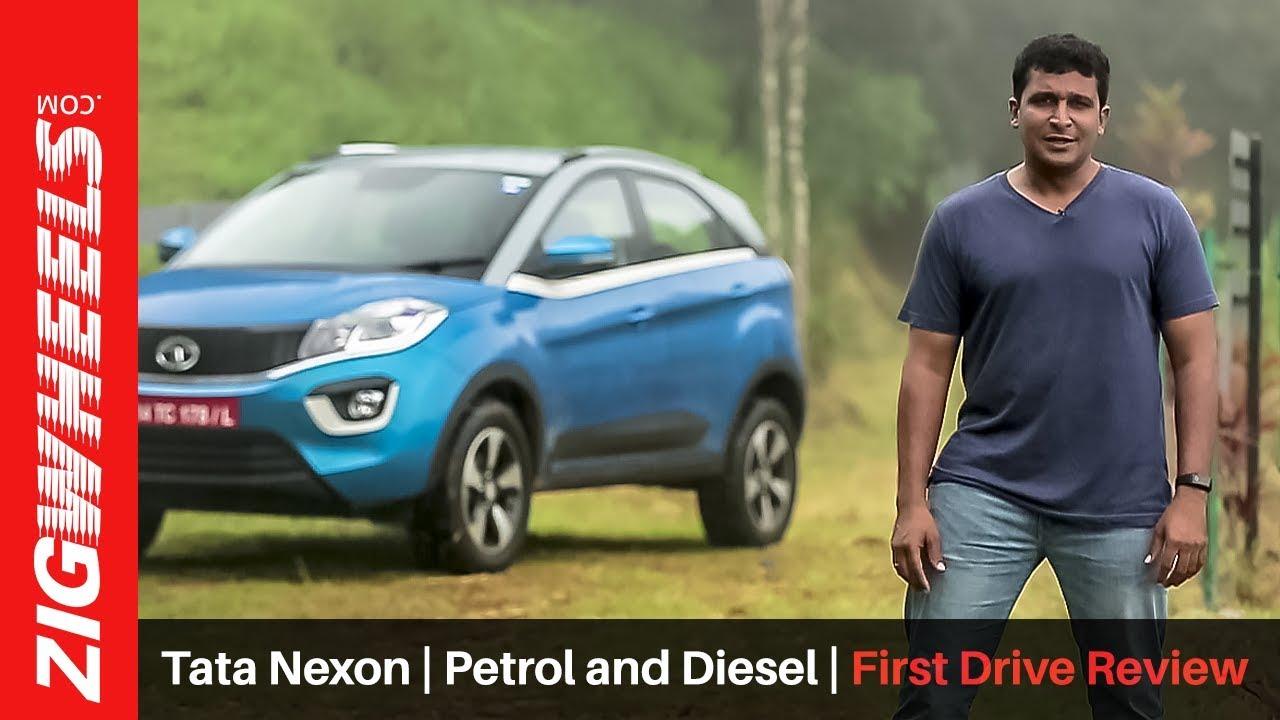 Tata Nexon | Petrol and Diesel | First Drive Review | ZigWheels.com