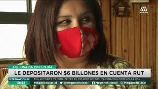 Mujer  recibió $6 billones por error en su cuenta bancaria