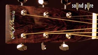 MJ Franks Triple O (OOO) Hand-Crafted Acoustic Guitar at SoundPure