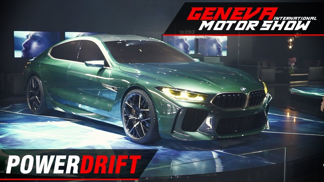 BMW M8 Gran Coupe - The 8 series is back : Geneva Motor Show 2018 : PowerDrift