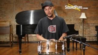 Ludwig 6.5x14 Patina Copper Snare Drum   soundpurestudios