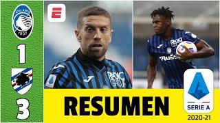Atalanta 1-3 Sampdoria. ¿El equipo de Papu Gómez y Duván Zapata piensa en la Champions | Serie A
