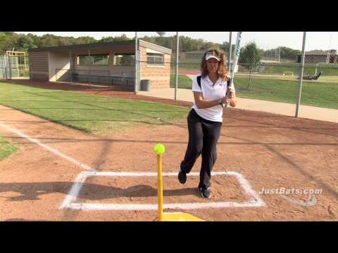 Softball Drill: Proper Stride Length with Michele Smith Video