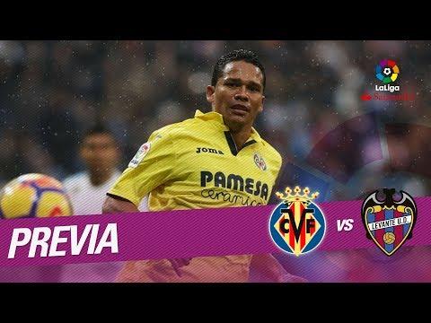 Previa Villarreal CF vs Levante UD