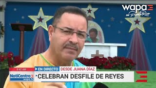 Fiesta de Reyes en Juana Díaz sigue en pie pese a temblor de 5.8