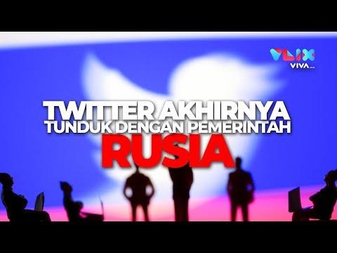 Pemerintah Rusia Memperlambat Akses Twitter Sejak Maret