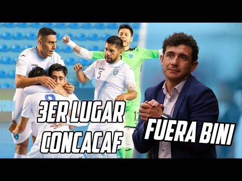 GUATEMALA 3ER LUGAR CONCACAF PREMUNDIAL FUTSALA | BINI SE IRA DE MUNICIPAL | Fútbol Quetzal