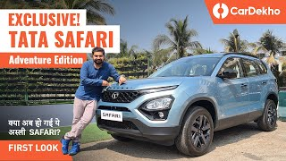 Tata Safari Adventure Persona Variant: All The Changes | First Look | CarDekho.com
