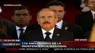 Realizan los actos de honores correspondientes al presidente de la República, Danilo Medina