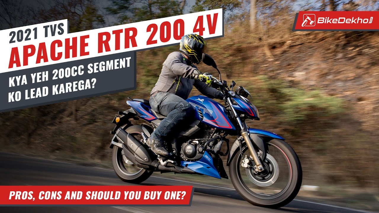 TVS Apache RTR 200 4V 2021: Pros, Cons and Should You Buy One | 200cc topper? | In Hindi