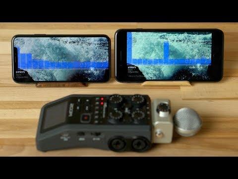 iPhone X vs 8 Plus Speaker Comparison
