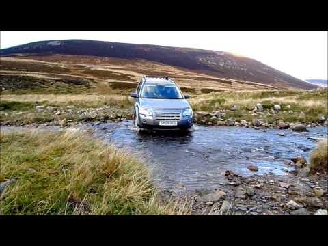 Land Rover Freelander 2 displaying off-road capabilities