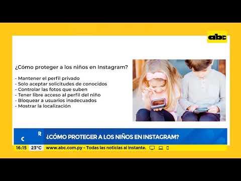 Cómo proteger a los niños en Instagram