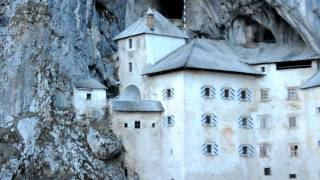 The Predjama Castle in Slovenia