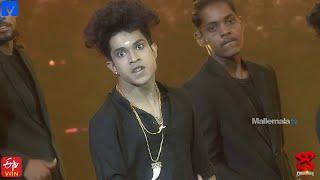 Jatin Performance Promo - Dhee Champions (#Dhee12) - 23rd September 2020 - Sudigali Sudheer - MALLEMALATV