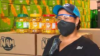 Empresa ecuatoriana dona chifles a los más necesitados durante pandemia
