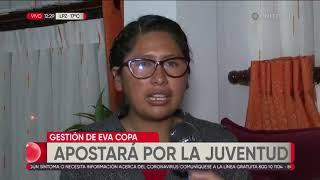 Iris, la joven de 20 años que asume la Presidencia del Concejo de El Alto
