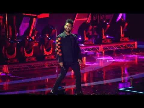 connectYoutube - The Weeknd- I Feel It Comin' (iHeartRadio Music Festival '17)