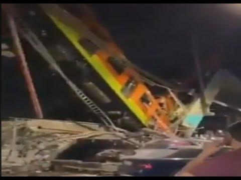 Descarriló un tren del Metro de la Ciudad de México