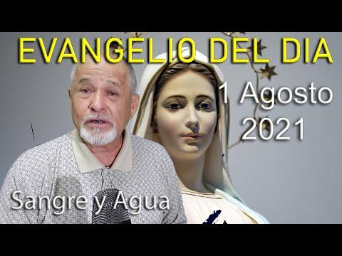 Evangelio Del Dia de Hoy - Domingo 1 Agosto 2021- Sangre y Agua