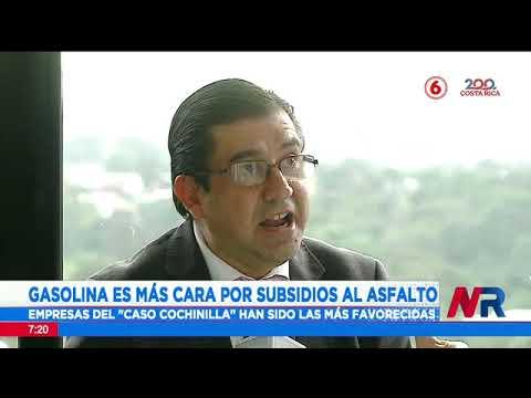 Gasolina con subsidio al asfalto: Empresas del caso Cochinilla han sido las más favorecidas