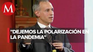 López-Gatell: cifras de coronavirus no se generan en una oficina, sino en el país