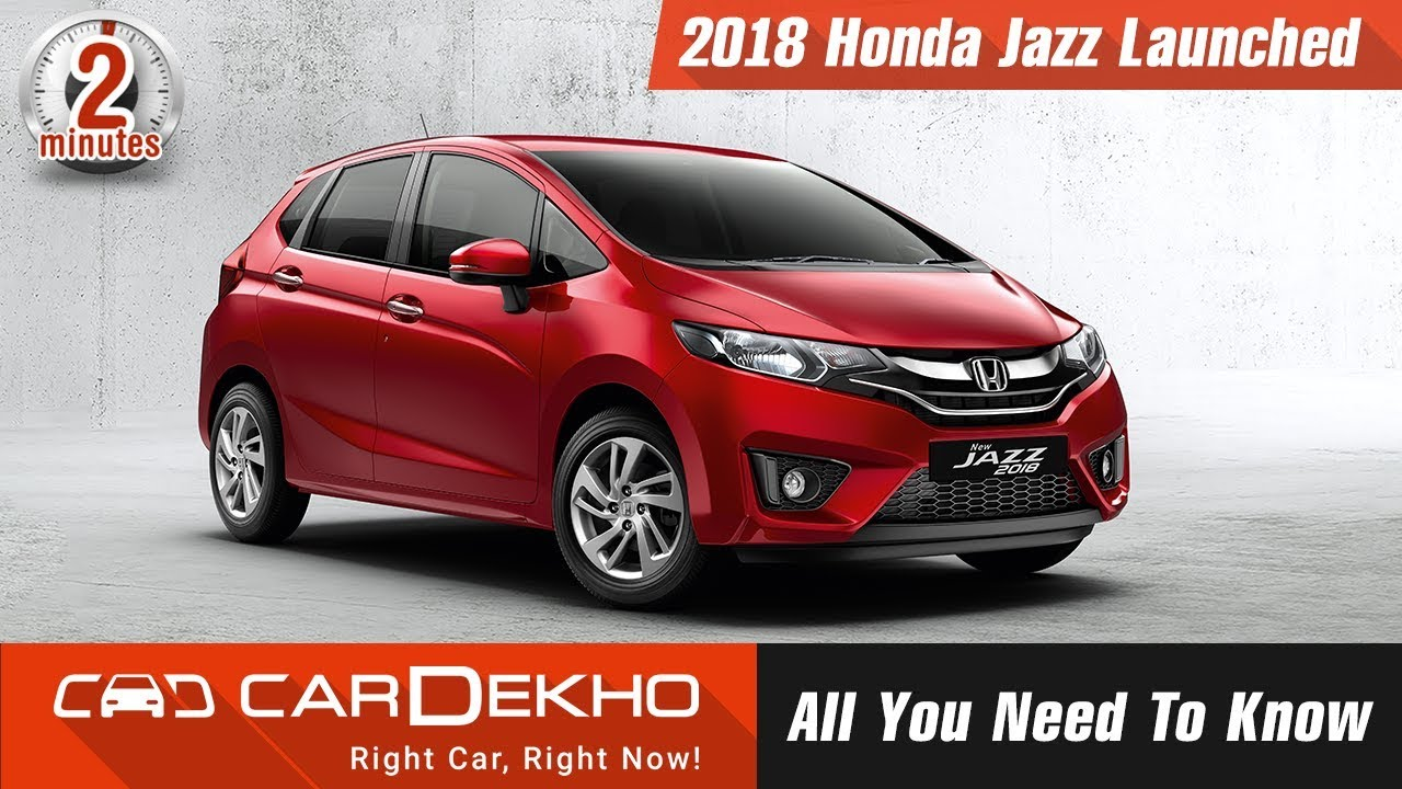 2018 Honda Jazz Launched | All You Need To Know | #In2Mins