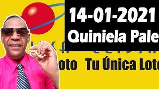 Resultados y Comentarios Quiniela Pale de Leidsa 14-01-2021 (CON JOSEPH TAVAREZ)