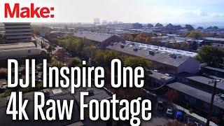 DJI Inspire One: 4k Raw Aerial Footage