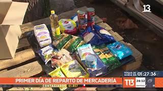 Cajas de alimentos: Gobierno reparte 0,3% del total en el prime día de entrega