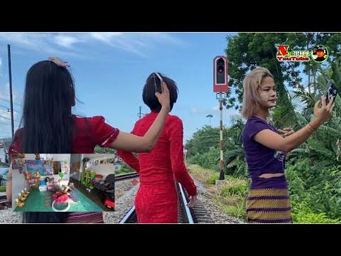 ทำไมวันนี้สาวชาวพม่าแต่งตัวสวย