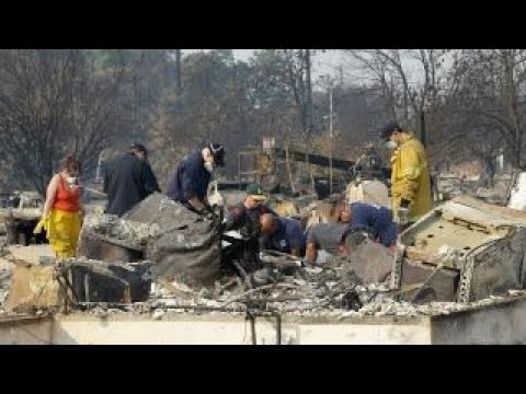 Crews making headway against California wildfires
