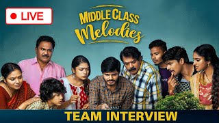 LIVE : Vijay Devarakonda Brother Anand Deverakonda Middle Class Melodies Team Interview live - IGTELUGU