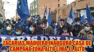 ZACARIAS MAQUERA PIDIÓ UNIDAD PARA PODER GANAR LAS ELECCIONES..