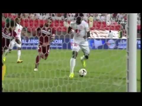 البطولة الاماراتية: تحركات عبد العزيز برادة أمام الوحدة